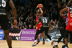 Lewis Champion of Bristol Flyers shoots - Photo mandatory by-line: Arron Gent/JMP - 07/12/2019 - BASKETBALL - Surrey Sports Park - Guildford, England - Surrey Scorchers v Bristol Flyers - British Basketball League Championship