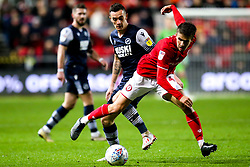 Adam Nagy of Bristol City takes on Shaun Williams of Millwall - Mandatory by-line: Robbie Stephenson/JMP - 10/12/2019 - FOOTBALL - Ashton Gate - Bristol, England - Bristol City v Millwall - Sky Bet Championship