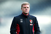 AFC Bournemouth manager Eddie Howe ahead of the Premier League match between Newcastle United and Bournemouth at St. James's Park, Newcastle, England on 4 November 2017. Photo by Craig Doyle.