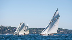 Tilly XV wins 2017 Gstaad Yacht Club Centenary Trophy<br /> <br />  Racing started in pretty light wind, of around 5 knots, and progressively increased to exceed 20 knots at the mark positioned outside the bay.  The leg back to the finish line, was a three-boat fight among German flagged Tilly XV, 2016 champion NY50 gaff cutter Spartan, from the USA and NY30 Linnet, skippered by Brazilian sailing star Torben Grael. Despite their bigger size and most powerful sail plan, the two pursuers could not catch up with the German boat, especially at ease in lighter air and very well sailed by her experienced crew, with skipper Juerg Moessnang and owner Siegfried Rittler.