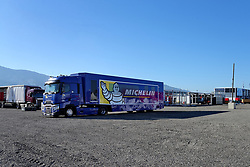 March 23, 2019 - France - Installation de la Logistic Center, du Parc d'assistance et du PC Rally HQ du Tour de Corse WRC 2019 (Credit Image: © Panoramic via ZUMA Press)