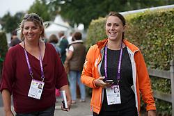 Gunnink Charlotte, (NED), Van Zon Jantien, (NED)<br /> Grand Prix Special<br /> European Championships - Aachen 2015<br /> © Hippo Foto - Dirk Caremans<br /> 15/08/15