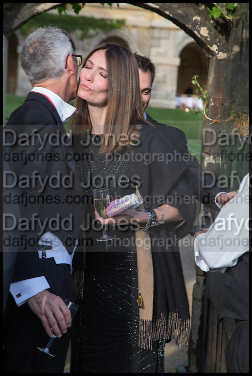 PROVOST WORCESTER COLLEGE PROF JONATHAN BATE; PLUM SYKES, The Tercentenary Ball, Worcester College. Oxford. 27 June 2014