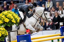 Kühner Max, AUT, Chardonnay <br /> LONGINES FEI World Cup™ Finals Gothenburg 2019<br /> © Hippo Foto - Stefan Lafrentz<br /> 05/04/2019