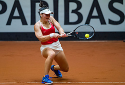 09-02-2019 NED: Fed Cup Netherlands - Canada, Den Bosch<br /> The Netherlands loses on the first day of Canada during the first round of the Tennis FedCup. The Dutch FedCup team plays after four years at home and is 2-0 behind /