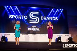 Sanja Modric and Janja Bozic Marolt at Sports Awards & Brands ceremony during Sports marketing and sponsorship conference Sporto 2018, on November 22, 2017 in Hotel Slovenija, Congress centre, Portoroz / Portorose, Slovenia. Photo by Vid Ponikvar / Sportida