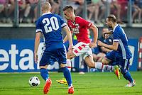 ALKMAAR - 25-08-2016, AZ - Vojvodina, AFAS Stadion, 0-0, AZ speler Markus Henriksen