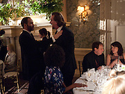TOM FORD, Dinner to mark 50 years with Vogue for David Bailey, hosted by Alexandra Shulman. Claridge's. London. 11 May 2010 *** Local Caption *** -DO NOT ARCHIVE-© Copyright Photograph by Dafydd Jones. 248 Clapham Rd. London SW9 0PZ. Tel 0207 820 0771. www.dafjones.com.<br /> TOM FORD, Dinner to mark 50 years with Vogue for David Bailey, hosted by Alexandra Shulman. Claridge's. London. 11 May 2010
