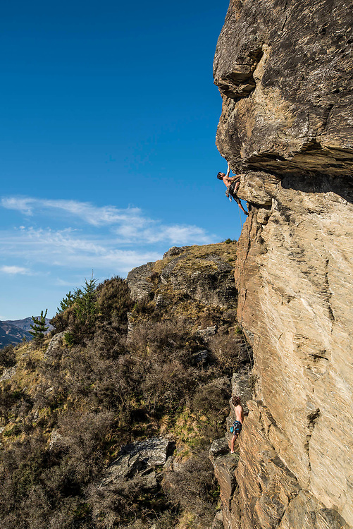 "Dany Soares in ""Squirm Baby Squirm"" (22) at Queenstown Hill"