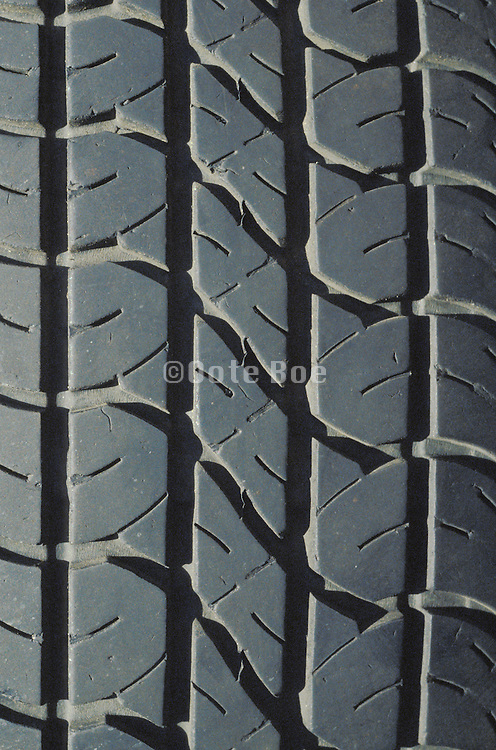 cropped detail of car tire