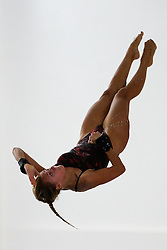 Tonia Couch of Plymouth Diving competes in the Womens 10m Platform Final - Photo mandatory by-line: Rogan Thomson/JMP - 07966 386802 - 21/02/2015 - SPORT - DIVING - Plymouth Life Centre, England - Day 2 - British Gas Diving Championships 2015.
