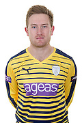 Hampshire all-rounder Liam Dawson in the 2016 Natwest T20 Blast Shirt. Hampshire CCC Headshots 2016 at the Ageas Bowl, Southampton, United Kingdom on 7 April 2016. Photo by David Vokes.
