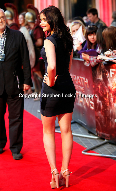 Jacqueline Jossa at the premiere of Wrath of the Titans in London, 29th March 2012. Photo by: Stephen Lock / i-Images