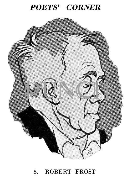 Poets' Corner. 5. Robert Frost.