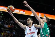 DESCRIZIONE : Kaunas Lithuania Lituania Eurobasket Men 2011 Quarter Final Round Spagna Slovenia Spain Slovenia<br /> GIOCATORE : Juan Carlos Navarro<br /> CATEGORIA : tiro penetrazione<br /> SQUADRA : Spagna Slovenia Spain Slovenia<br /> EVENTO : Eurobasket Men 2011<br /> GARA : Spagna Slovenia Spain Slovenia<br /> DATA : 14/09/2011<br /> SPORT : Pallacanestro <br /> AUTORE : Agenzia Ciamillo-Castoria/M.Metlas<br /> Galleria : Eurobasket Men 2011<br /> Fotonotizia : Kaunas Lithuania Lituania Eurobasket Men 2011 Quarter Final Round Spagna Slovenia Spain Slovenia<br /> Predefinita :
