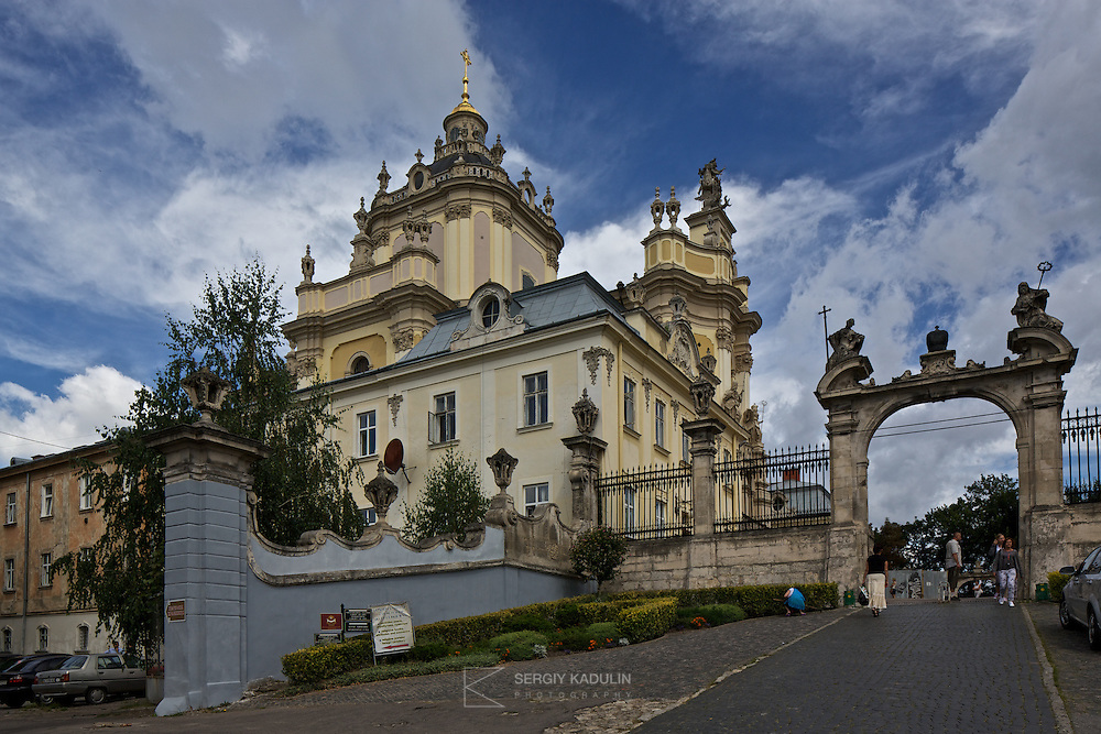St. Yura Cathedral is probably the most beautiful and elegant catholic cathedral in Lviv. It is just five minutes drive from the downtown.