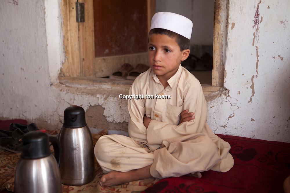 afghan boy in Wardak province, Afghanistan
