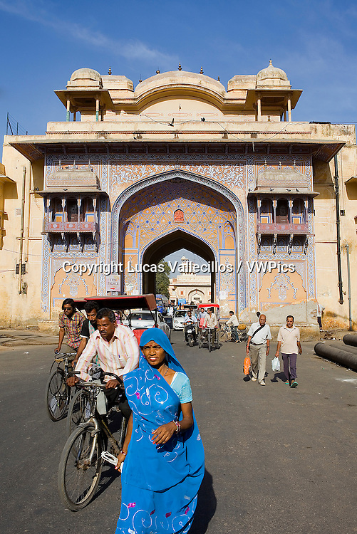 'Nakka Khana' gate. Jaipur. India