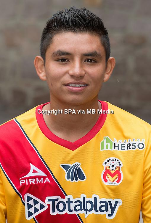 Mexico League - BBVA Bancomer MX 2015-2016 - <br /> La Monarquia - Club Atletico Monarcas Morelia / Mexico - <br /> Miguel Angel Sansores Sanchez &quot; Miguel Sansores &quot;