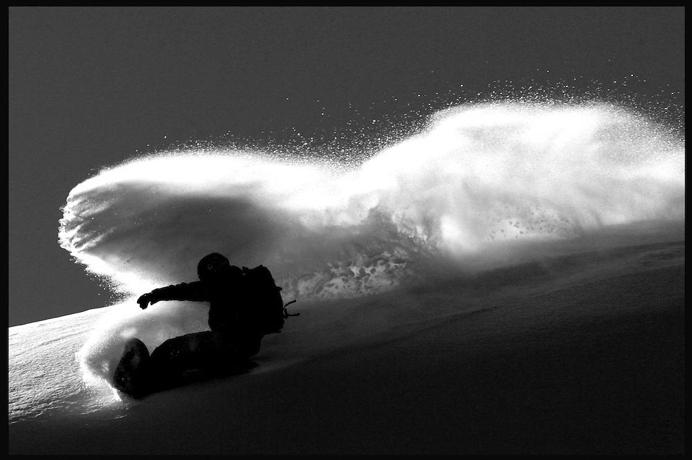 Rider: Xavier Jordan.Lieux: Trient (Switzerland)