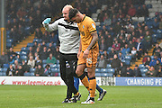 Port Vale Forward, Anton Forrester (15) during the EFL Sky Bet League 1 match between Bury and Port Vale at the JD Stadium, Bury, England on 3 September 2016. Photo by Mark Pollitt.