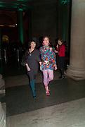 SILVIA ZIRANEK; ELIZABETH LYNCH, Migrations private view, Tate Britain. London. 30 January 2012.