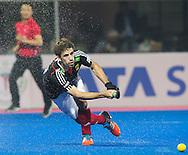 BHUBANESWAR (India) -  Hero Champions Trophy hockey men. Semifinal Germany vs Australia.  Benedikt Fürk of Germany.   Photo Koen Suyk