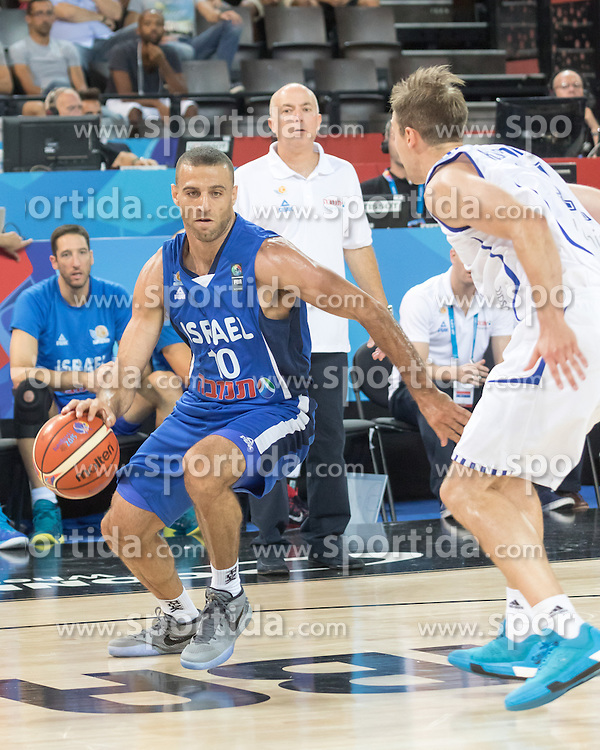 06.09.2015, Park Suites Arena, Montpellier, FRA, Finnland vs Israel, Gruppe A, im Bild RAVIV LIMONAD (10) // during the FIBA Eurobasket 2015, group A match between Finland and Israel at the Park Suites Arena in Montpellier, France on 2015/09/06. EXPA Pictures &copy; 2015, PhotoCredit: EXPA/ Newspix/ Pawel Pietranik<br /> <br /> *****ATTENTION - for AUT, SLO, CRO, SRB, BIH, MAZ, TUR, SUI, SWE only*****