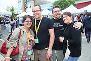 Beer drinkers unite at the Brandywine Craft Brewers' Festival at the Iron Hill Brewery and Restaurant in Media, PA