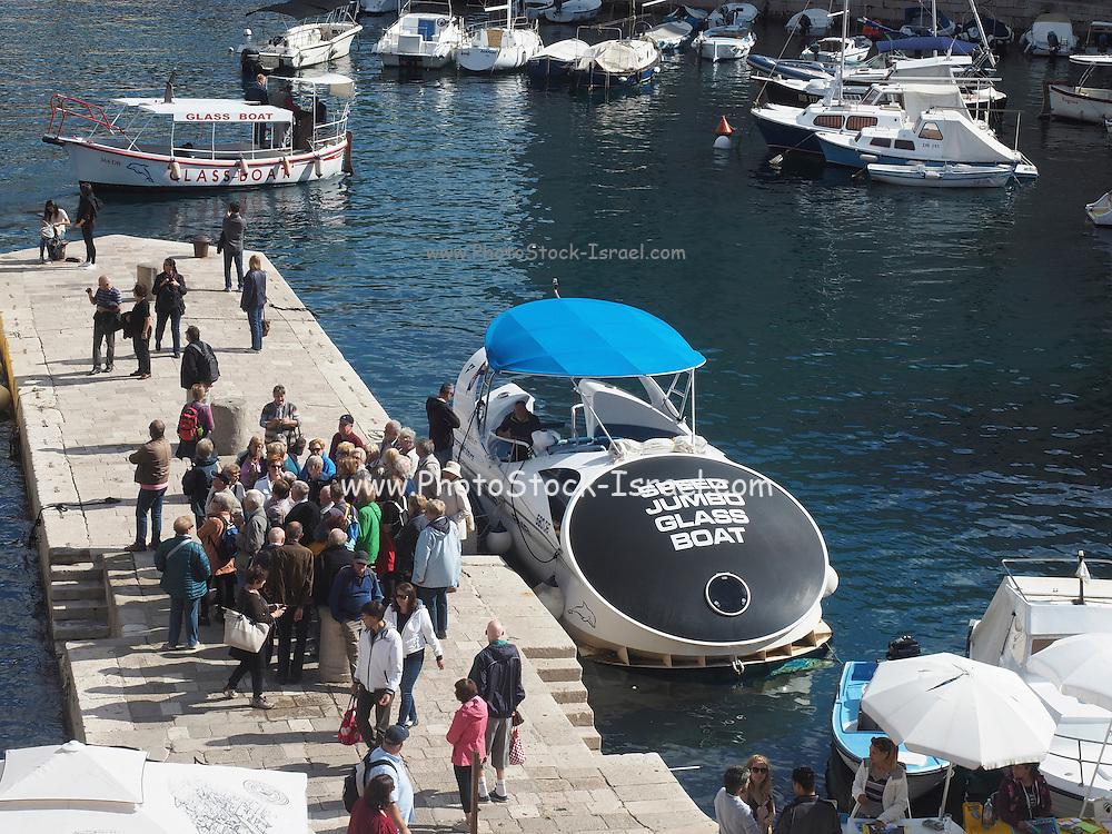 Croatia, Dubrovnik, the harbour