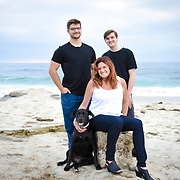 Anne Family Portraiture Windansea La Jolla 2017