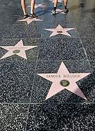 US-LOS ANGELES: The star of Sandra Bullock on  Hollywood Boulevard. PHOTO: GERRIT DE HEUS