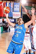 BORMIO 12 AGOSTO 2007<br /> BASKET<br /> NAZIONALE ITALIANA FEMMINILE<br /> ITALIA-BULGARIA<br /> NELLA FOTO GIORGI<br /> FOTO CIAMILLO-CASTORIA