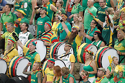 09.09.2014, City Arena, Barcelona, ESP, FIBA WM, Litauen vs Türkei, Viertelfinale, im Bild Lithuania's supporters // during FIBA Basketball World Cup Spain 2014 quarterfinal match between Lithuania and Turkey at the City Arena in Barcelona, Spain on 2014/09/09. EXPA Pictures © 2014, PhotoCredit: EXPA/ Alterphotos/ Acero<br /> <br /> *****ATTENTION - OUT of ESP, SUI*****