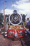 IM# 010:A celebration run of this Heritage steam engine was organised between Chennai and vandalur railway stations.