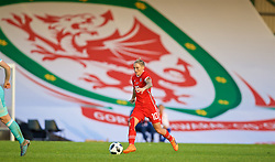 NEWPORT, WALES - Tuesday, June 12, 2018: Wales' Jessica Fishlock during the FIFA Women's World Cup 2019 Qualifying Round Group 1 match between Wales and Russia at Newport Stadium. (Pic by David Rawcliffe/Propaganda)