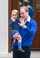 Prince George Visits Sister, St Mary's Hospital
