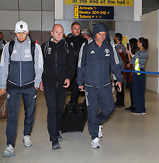 Manchester United players return to the UK - 29 July 2017