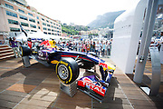 May 21, 2014: Monaco Grand Prix: Red Bull hospitality