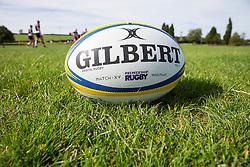 Bristol Rugby Premiership match ball - Rogan Thomson/JMP - 22/08/2016 - RUGBY UNION - Clifton Rugby Club - Bristol, England - Bristol Rugby Media Day 2016/17.