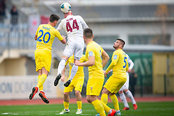 Gaber Petric of Triglav and Sven Karic Sostaric of Domzale during football match between NK Domzale and NK Triglav in Round #18 of Prva liga Telekom Slovenije 2019/20, on November 23, 2019 in Sports park Domzale, Slovenia. Photo by Sinisa Kanizaj / Sportida