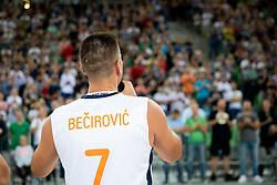Sani Becirovic during basketball event Kosarkaska simfonija - last offical basketball match of Bostjan Nachbar and Sani Becirovic, on August 30, 2018 in Arena Stozice, Ljubljana, Slovenia. Photo by Urban Urbanc / Sportida
