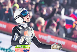 22.03.2019, Planica, Ratece, SLO, FIS Weltcup Ski Sprung, Skiflug, Einzelbewerb, Wertungssprung, Finale, im Bild Simon Ammann (SUI) // Simon Ammann of Switzerland during his competition jump of the Ski Flying Hill individual competition of the FIS Ski Jumping World Cup Final 2019. Planica in Ratece, Slovenia on 2019/03/22. EXPA Pictures © 2019, PhotoCredit: EXPA/ JFK