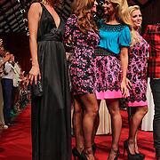 NLD/Amsterdam/20120910 - Modeshow Raak 2012 / 2013 Amsterdam, Kim Feenstra, Quinty Trustfull - van den Broek,, Froukje de Both, Gigi Ravelli