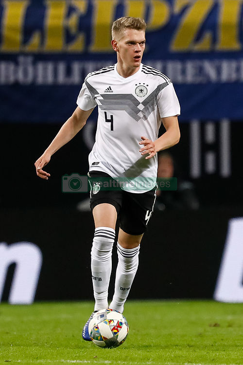 November 16, 2018 - Leipzig, Germany - Matthias Ginter of Germany in action during the international friendly match between Germany and Russia on November 15, 2018 at Red Bull Arena in Leipzig, Germany. (Credit Image: © Mike Kireev/NurPhoto via ZUMA Press)