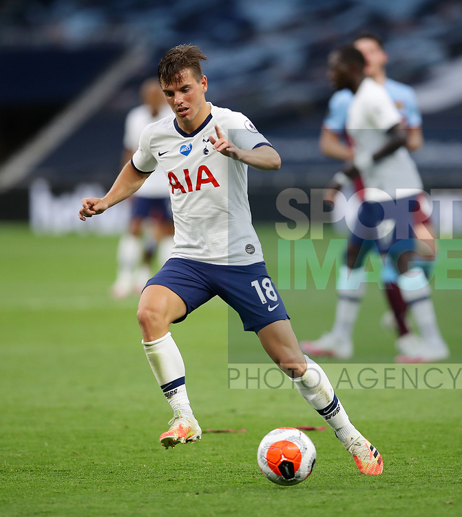 Tottenham's Giovani Lo Celso during the Premier League match at the Tottenham Hotspur Stadium, London. Picture date: 23rd June 2020. Picture credit should read: David Klein/Sportimage