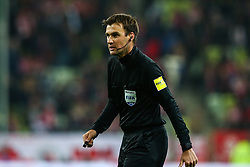 November 15, 2018 - Gdansk, Poland - Stephan Klossner referee reacts during the international friendly soccer match between Poland and Czech Republic at Energa Stadium in Gdansk, Poland on 15 November 2018. (Credit Image: © Foto Olimpik/NurPhoto via ZUMA Press)