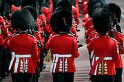 Guardsmen marching in London, UK