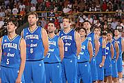 DESCRIZIONE : Bormio Torneo Internazionale Gianatti Finale Italia Croazia <br /> GIOCATORE : Team Italia <br /> SQUADRA : Nazionale Italia Uomini <br /> EVENTO : Bormio Torneo Internazionale Gianatti <br /> GARA : Italia Croazia <br /> DATA : 04/08/2007 <br /> CATEGORIA : <br /> SPORT : Pallacanestro <br /> AUTORE : Agenzia Ciamillo-Castoria/S.Silvestri