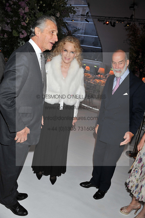 Left to right, ARNAUD BAMBERGER and TRH PRINCE & PRINCESS MICHAEL OF KENT at a dinner hosted by Cartier following the following the opening of the Chelsea Flower Show 2012 held at Battersea Power Station, London on 21st May 2012.